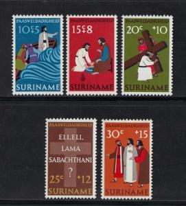 Surinam 1973  MNH  Easter complete