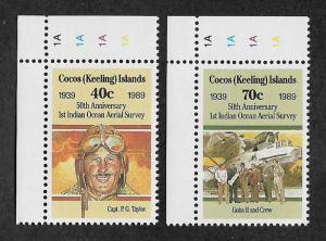 203-204,MNH Cocos Islands
