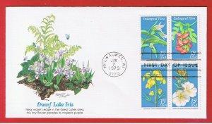 #1783-1786 FDC  Endangered  Flora