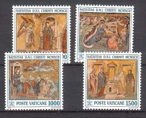 1992 - Vatican # 912-915 - Mint VF/NH