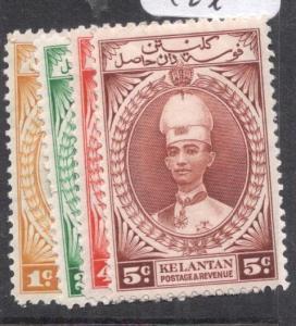 Malaya Kelantan SG 40-3 MOG (4dkx)