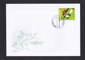 Liechtenstein   #1234  FDC  2002  world championship soccer  football