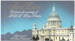 Saint Lucia Scott 549 Mint never hinged.