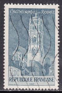 France 1190 USED 1967 Scenic Views, Rodez Cathedral