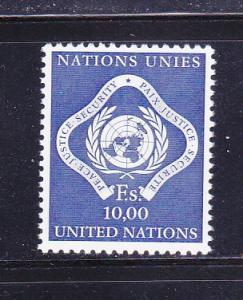 UN Geneva 14 MNH Peace Justice Security (B)