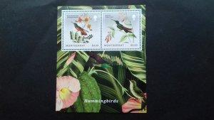 Montserrat 2014 Birds - Hummingbirds Mint