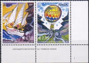 Greece stamp EUROPA CEPT corner pair MNH 2004 Mi 2224 A - 2225 A WS8651