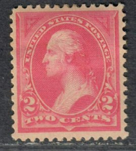 $US Sc#248 M/H/F-VF, type I pink, Cv. $30