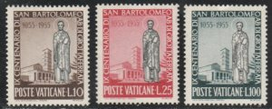 Vatican City #200-202 MNH Full Set of 3