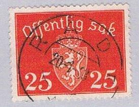 Norway COA 25 (NP39R404)