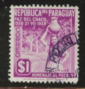 Paraguay Scott 367 used stamp
