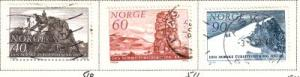 Norway Sc 510-2 1968 Mountaineers stamps used