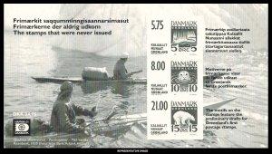 Greenland Scott 389a Mint never hinged.