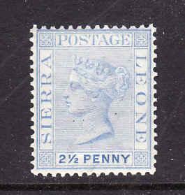 Sierra Leone-Sc#26-unused light hinge 2p slate-QV-1884-