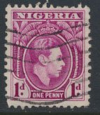 Nigeria  SG 50bba    Used  Perf 11½   1950 Definitive please see scan