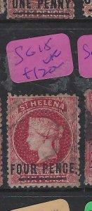 ST HELENA  (P0705BB)  QV  4 D  SG  15   VFU