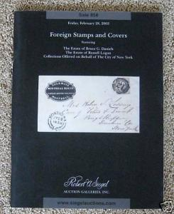 Choice Foreign Stamps & Covers, Daniels & Logan Estates