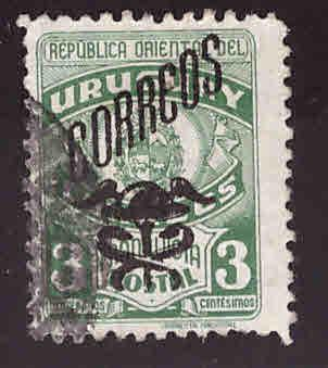 Uruguay Scott 548 Used stamp