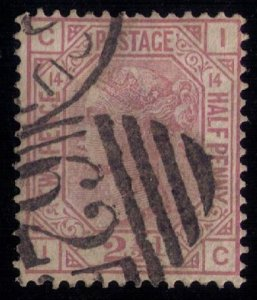 Great Britain Sc #67 Used PL14 F-VF