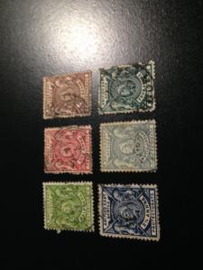 British East Africa sc 72,73,75-78 u