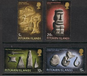 PITCAIRN ISLANDS 1971 POLYNESIAN ART