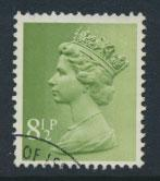 GB Machin 8½p  SG X881  Scott MH65  Used with FDC cancel  please read details