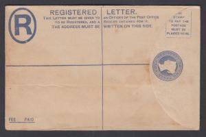 Great Britain H&G 28D mint 1893 2p QV Registered Envelope