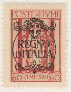 Fiume 1924 Overprint 60c Very Fine MNH** Stamp A21P11F4980