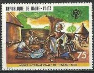 1979 Upper Volta Scott 494 International yr of the child MNH