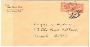 UNITED STATES - Cover Air Mail 1934 C19