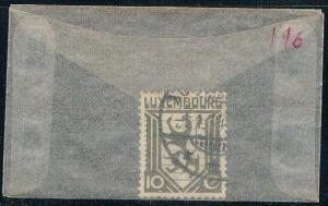 Luxembourg 196 Used Coat of Arms 1930 (L0271)