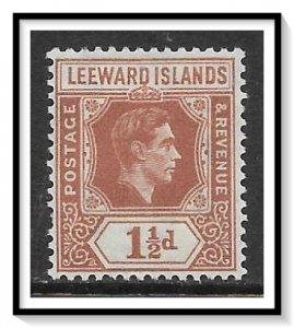Leeward Islands #106 KG VI MH