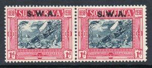 South West Africa 1938 Voortrekker 1d+1d Cent Memorial SG 106 mint CV £22