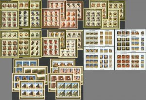 KS IMPERF 2002-2003 ART ARCHITECTURE MONUMENTS OF EGYPT 50SH MNH