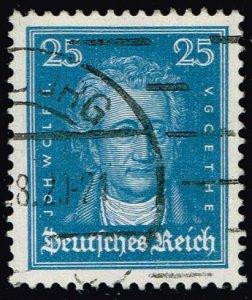 Germany #358 Johann Wolfgang von Goethe; Used (3Stars)