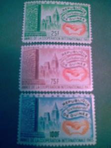 Guinea # 314- 316 Mint OG NH