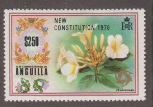 Anguilla 244 Frangipani O/P 1976