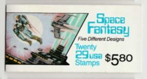 U.S. Scott #2745a BK207 Space Fantasy Stamp - Mint NH Booklet - Unopened
