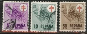 SPAIN Scott RA30-31, RAB3, 1950 MH* Tax TB Fund