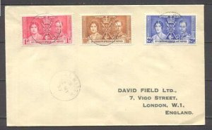 St.Cristopher Nevis  cover Coronation-37
