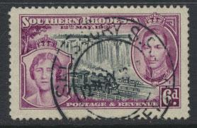 Southern Rhodesia SG 39  SC# 41 Used with 1st day cancel see scan & details