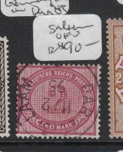 German East Africa Forerunner Dar Es Salaam VFU (3dqh)