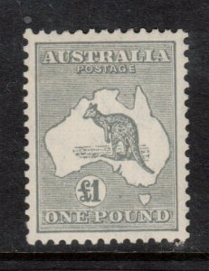Australia #128 (SG #137) Very Fine Mint Full Original Gum Lightly Hinged