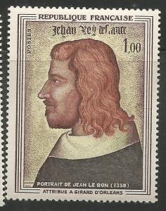 FRANCE 1084  MNH, JOHN II, THE GOOD