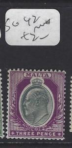 MALTA (P0710B)  KE  3D   SG 42  MNH