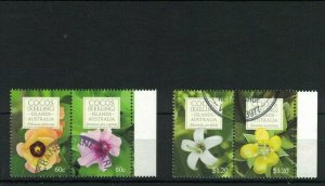 CK132) Cocos Keeling Islands 2010 Flowers CTO/Used