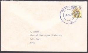 FIJI 1974 cover to Suva - YASAWA - I - RARA cds.............................5914