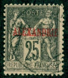 French Offices in Egypt - Alexandria #9  Used  CV$6.50