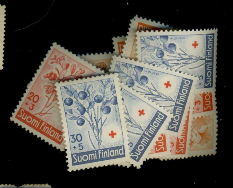 Finland #B151-3 (5) MINT F-VF OG NHC at$39.50