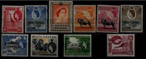 Kenya Uganda Tanzania 104/17 9 MH values SCV104.75